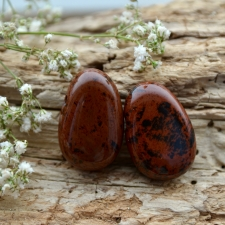 Auguga kivi / ripats - Mahagonobsidiaan