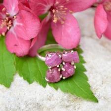 Sõrmus - Roosa turmaliin (925 hõbe)