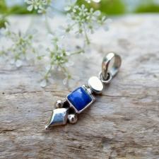 Ripats - Lasuriit / Lapis Lazuli (925 hõbe)