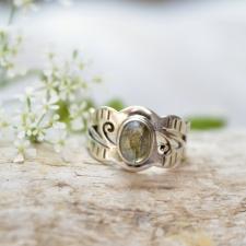 Sõrmus - Labradoriit (925 hõbe)