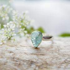 Sõrmus - Apatiit (925 hõbe)