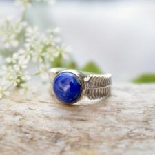 Sõrmus - Lasuriit / lapis lazuli (925 hõbe)