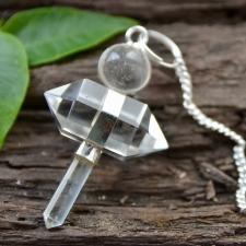Pendel - mäekristall kahe tipuga