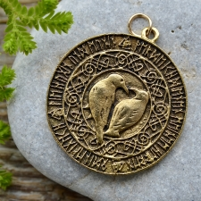 Ripats - Vareste, keldi sümbolid, ruunid (kuldne)