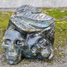 Kristallpealuud - Labradoriit (3950g)