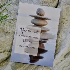 Postkaart sõnumiga - Rumi
