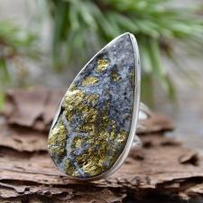 Sõrmus - Püriit (925 hõbe)