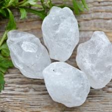Auguga kivi / Ripats - Mäekristall toorkivi