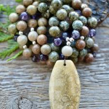 Ametüst * Fossiilkorall * Kamuflaaz jaspis * Kivistunud puit
