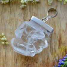 Ripats - Mäekristall Alpidest (925 hõbe)