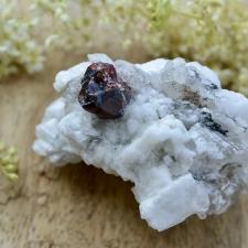 Granaat, Mäekristall, Turmaliin
