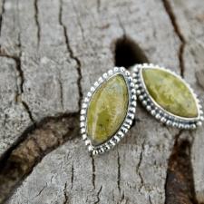 94318d6757e Kõrvarõngad - Aafrika roheline opaal (925 hõbe)