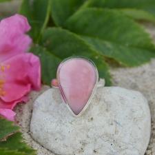 Sõrmus - Roosa opaal (925 hõbe)