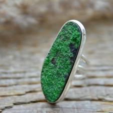 Sõrmus - Uvaroviit (925 hõbe)