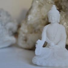 Medicine Buddha - alabaster
