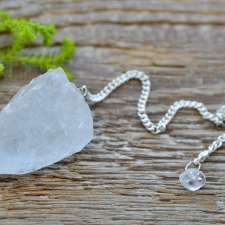 Pendel - mäekristall toorkivi