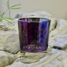 Teeküünla hoidja - elulill (klaasist)