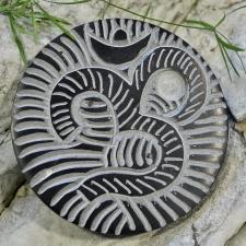 Viiruki hoidja - seebikivist OM-sümboliga