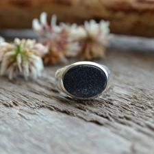 Sõrmus - ahhaat geood (925 hõbe)