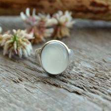 Sõrmus - kuukivi (925 hõbe)
