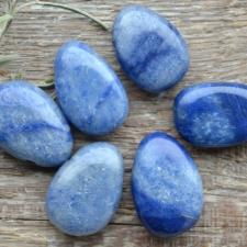 Auguga kivi / ripats - Sinine kvarts