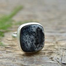 Sõrmus - Dendriitopaal (925 hõbe)