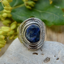 Sõrmus - Azuriit (925 hõbe)