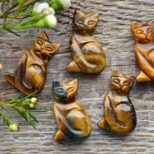 Auguga kivi / ripats - kass, tiigrisilm