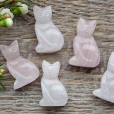 Auguga kivi / ripats - kass, roosakvarts
