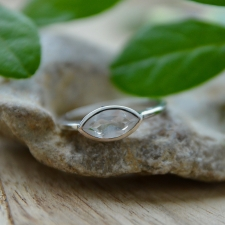 Sõrmus - Mäekristall (925 hõbe)