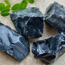 Obsidiaan toorkivi (65mm)