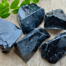Obsidiaan toorkivi (50mm)