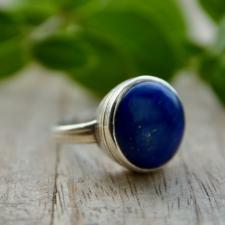 Sõrmus - Lasuriit (925 hõbe)
