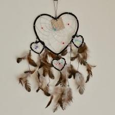 Unenäopüüdja - Must südametega (36cm)
