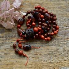 Mahagonobsidiaan * Punane jaspis