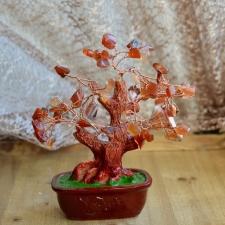 Küllusepuu - Karneool (14cm)