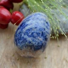 Kristallmuna -  Sinine jaspis (46mm)