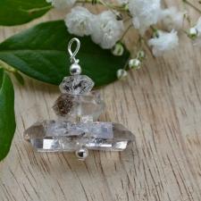 Ripats - Herkimeri teemant (30x30x12mm) (925 hõbe)