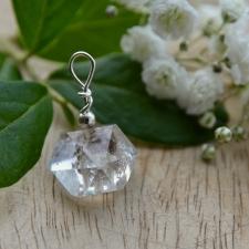 Ripats - Herkimeri teemant (25x20x18mm) (925 hõbe)