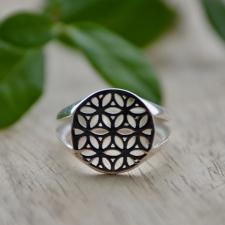 Sõrmus - Elulill (925 hõbe)