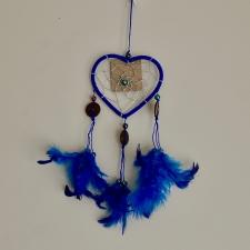 Unenäopüüdja - Sinine süda (26cm)