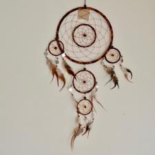 Unenäopüüdja - Pruun peeglitega (56cm)