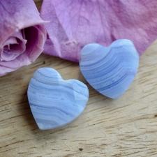 Auguga kivi / Ripats - Sinine pitsahhaat, süda