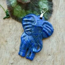 Ripats - Lasuriit elevant (925 hõbe)