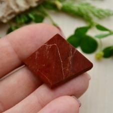 Püramiid - Bretšastunud jaspis (25x23mm)