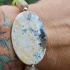 Granaat * Serpentiit/Kanada jaad * Päikesekivi * Madagaskari valge opaal (925 hõbe)