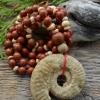 Punane jaspis * Ammoniit fossiil
